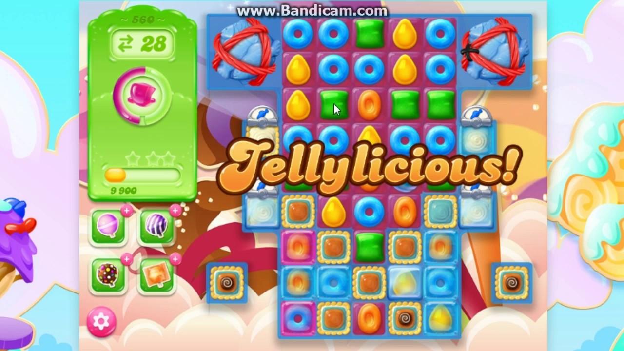 Candy crush jelly saga level 560 561 youtube - 1600 candy crush ...