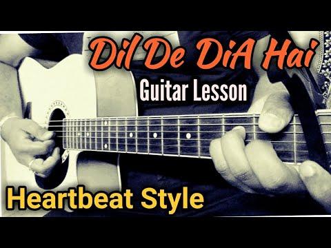 dil-de-dia-hai-song- -guitar-lesson- -heartbeat-style- -by-guitar-birla