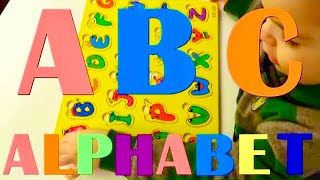 abcd song for kids educational videos alphabet from wooden board