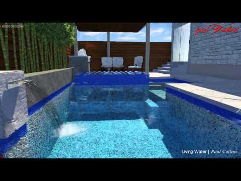 Design by Living Water Custom Pool LLC