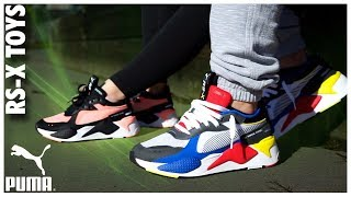 Review at the PUMA RS-X Toys - WearTesters