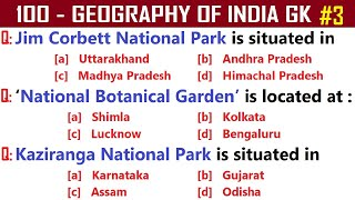 GEOGRAPHY OF INDIA |  India Geography GK Quiz |100 Geography GK Questions  | India GK | Part -3 screenshot 5