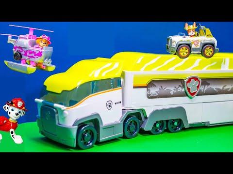 PAW PATROL Nickelodeon Jungle Patroller New Paw Patrol Toys Video