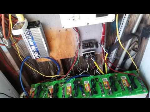 Bad Battery Or Volt Meter Off Grid Solar System Wind Turbine
