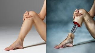 How to Photoshop Manipulation Tutorial of leg Photo