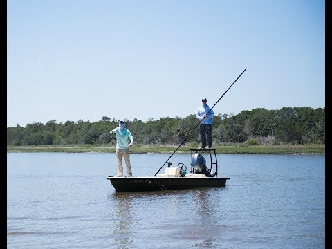 Fly Fishing for South Carolina Redfish - Myrtle Beach - Pawleys Island