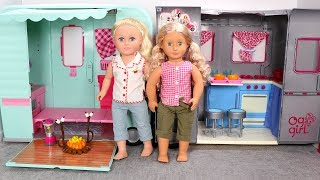 Our Generation Doll Camper vs My Life As Doll Camper Review