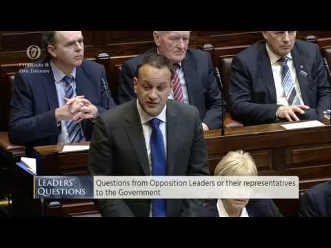 Dáil Éireann - Questions from Opposition Leaders for the Government - 7th February 2018