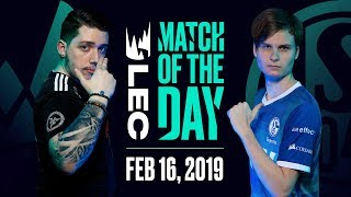 #LEC Match of the Day | Vitality vs Schalke | Saturday 16th