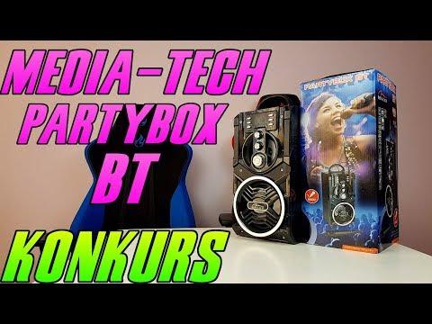 Media-Tech PartyBox BT - test, recenzja, review mobilnego głośnika karaoke