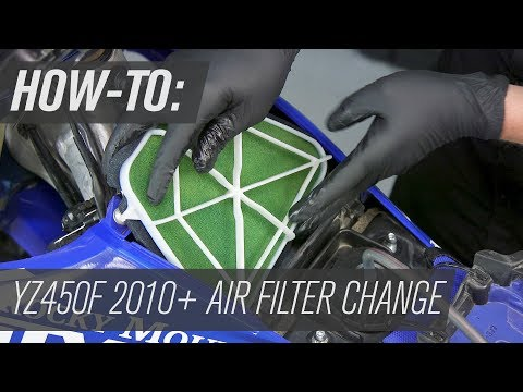Yamaha YZ450F 2010-2019 | Air Filter Change