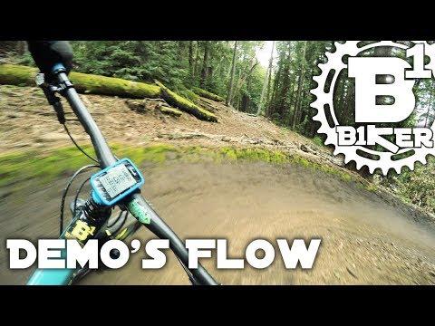 Demo's Flow - Flow & Braille Trail - Demo Forrest - Santa Cruz, Ca - Mountain Biking