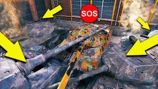 World of Tanks Приколы # 124 (Они Заполонили Весь Рандом)