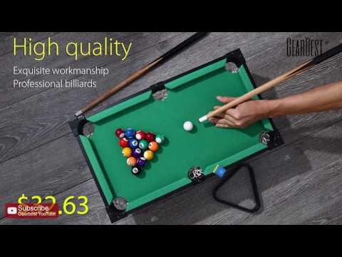 Mini Pool Set Billiard Ball Table Game - Gearbest.com