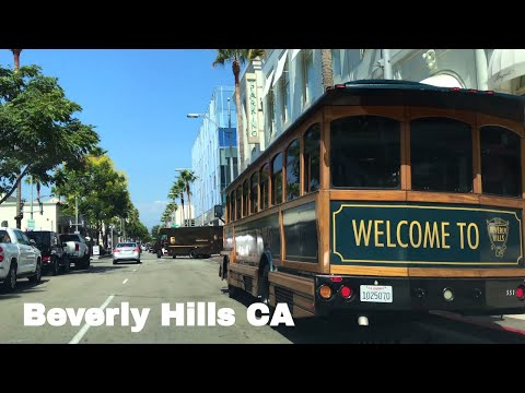 🔴  Beverly Hills Driving Tour 4K