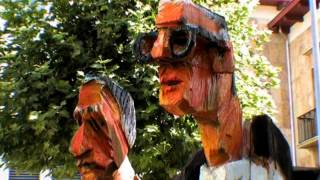 Bad Ragaz 2.Triennale - Sprücheklopfer trifft auf Bildhauer - 2003