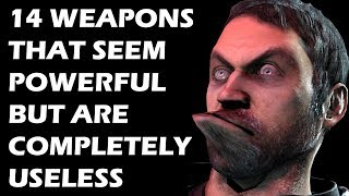 14 Weapons That Seem Powerful But Are Completely USELESS thumbnail