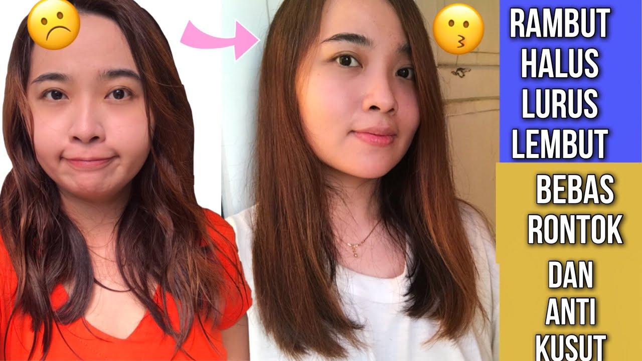 Cuma 5 Ribu Cara Meluruskan Rambut Permanen Pakai Bahan Alami Murah Meriah Youtube