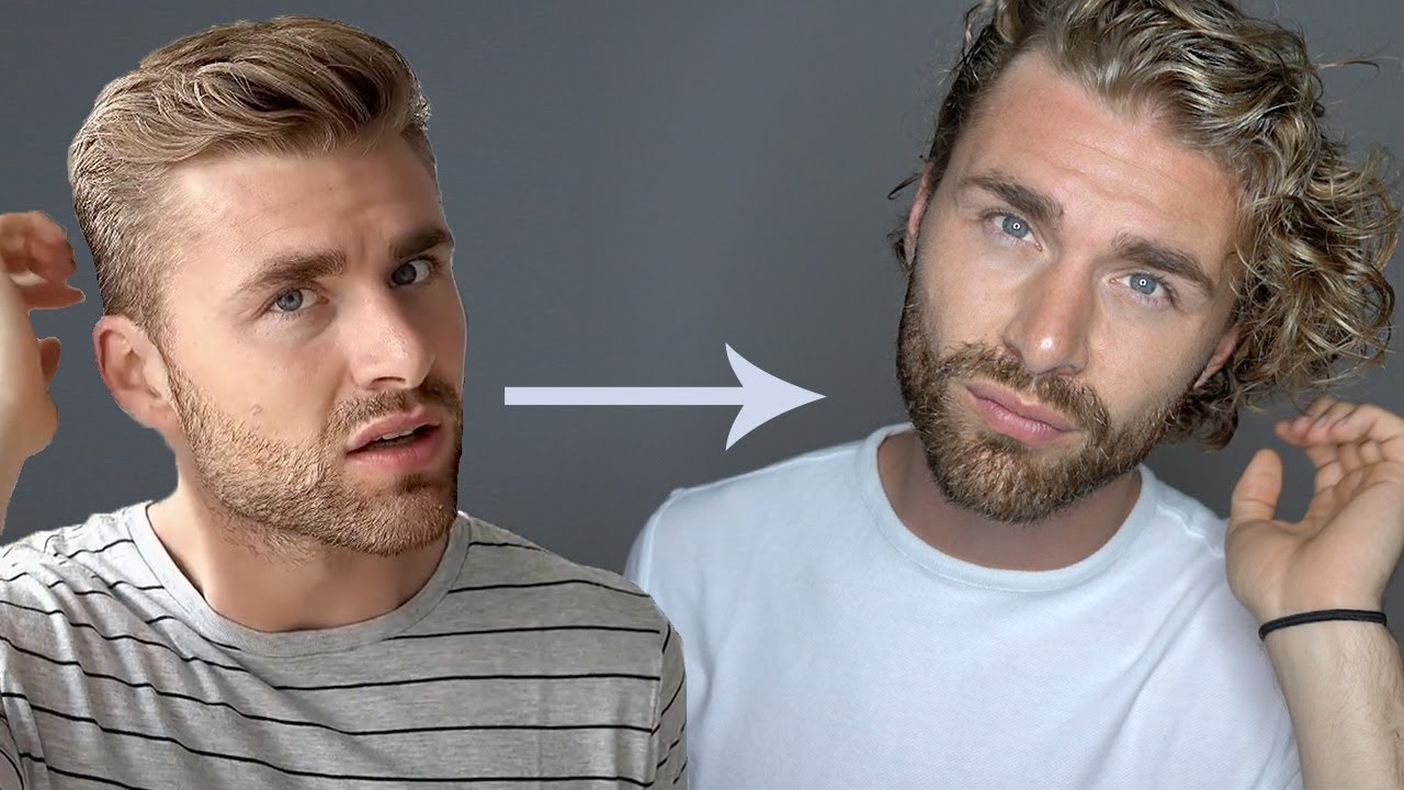 Haare Wachsen Lassen Oder Abschneiden Haar Update Nach 1 Jahr Daniel Korte