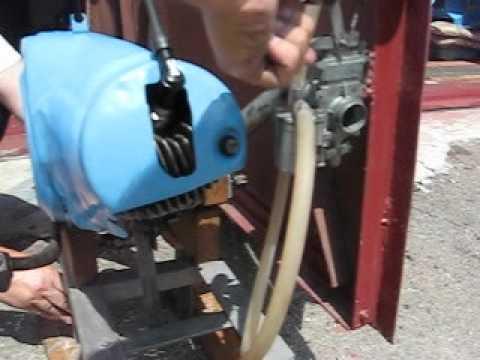 Двигатель мотороллера Вятка