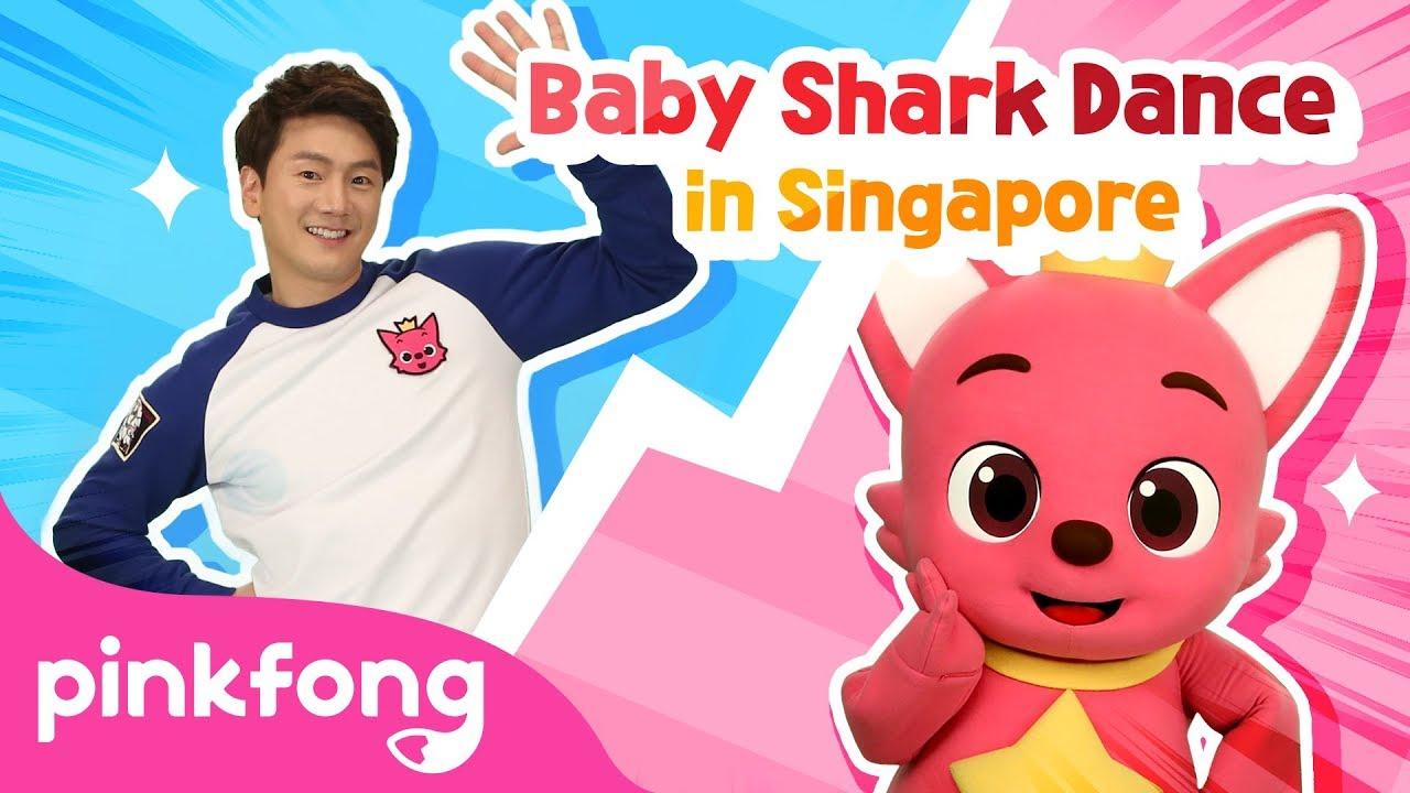 Baby Shark Dance Battle Singapore Baby Shark Challenge Baby Shark Vs Pinkfong Youtube
