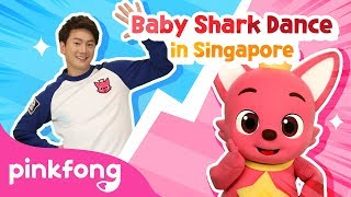 Baby Shark Dance Battle-Singapore  Baby Shark Challenge  Baby Shark vs Pinkfong