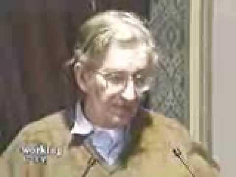 Noam Chomsky--Chomsky with activists in Vancouver part 1/3--1996