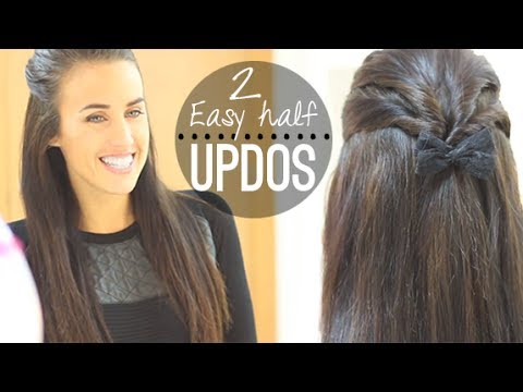 Easy Half Updos For Everyday Youtube