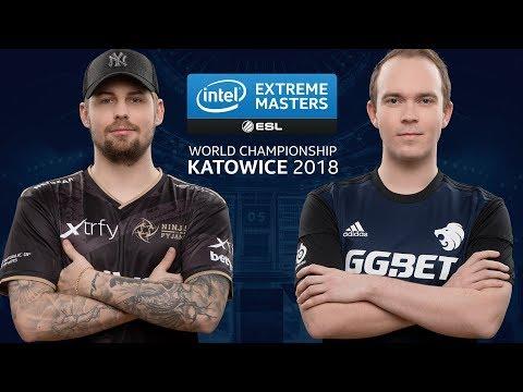 CS:GO - NiP vs. North [Overpass] Map 3 - LB Final Group B - IEM Katowice 2018