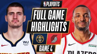 Download #3 NUGGETS at #6 TRAIL BLAZERS | FULL GAME HIGHLIGHTS | May 29, 2021