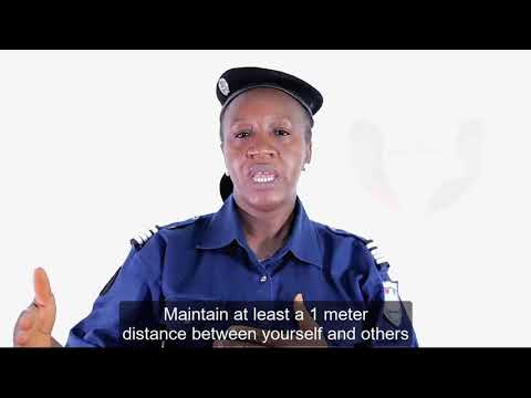 Police Commissioner Debadouno on COVID-19 Prevention for Students Across Guinea