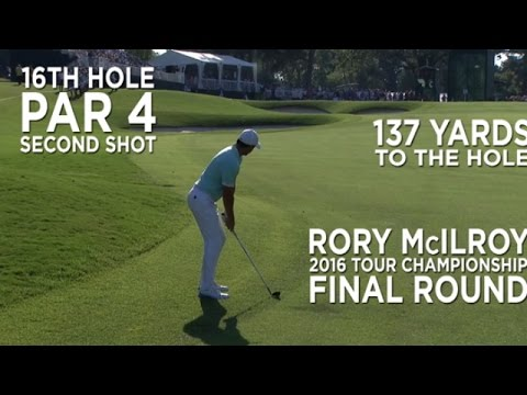 By the Numbers: Rory McIlroy's amazing eagle down the stretch at the 2016 TOUR Championship