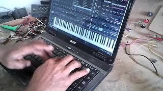 Main orgen tunggal di laptop ORG 2020
