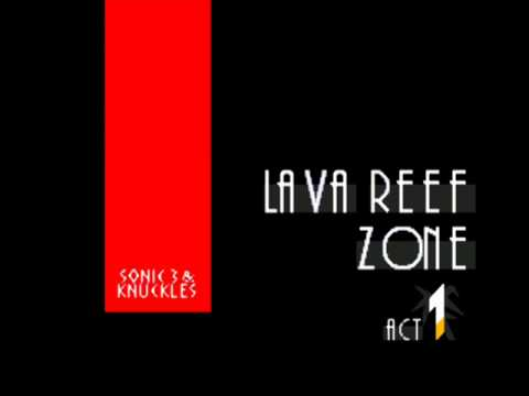 Sonic & Knuckles Music: Lava Reef Zone Act 1 [extended]