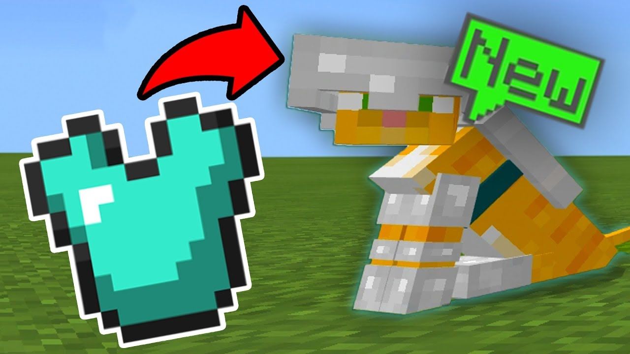 How To Get Ocelot Armor In Minecraft Pe Pocket Edition Youtube
