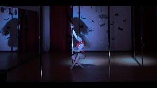 Мария Тихомирова - преподаватель Pole Dance ( Studio _SoVa_ PD)