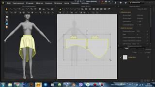 Варианты создания юбок в Marvelous Designer для THE SIMS 4