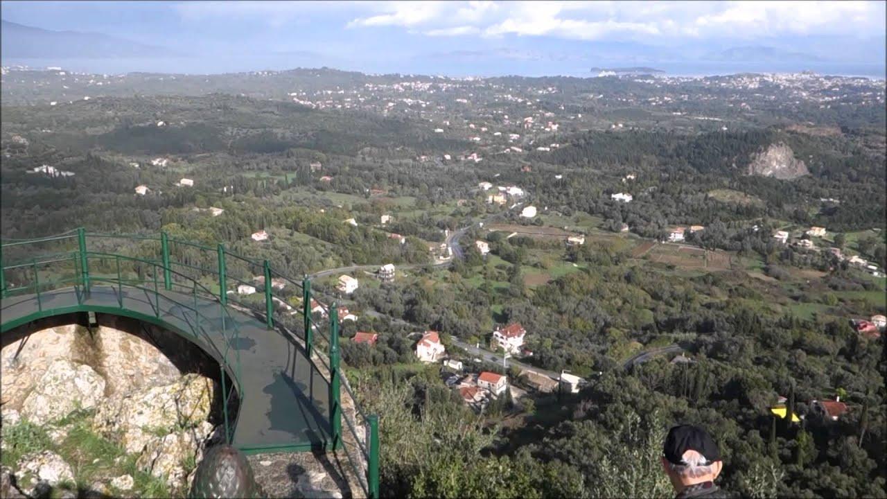 Kaisers Throne Pelakas Corfu Greece Views Youtube