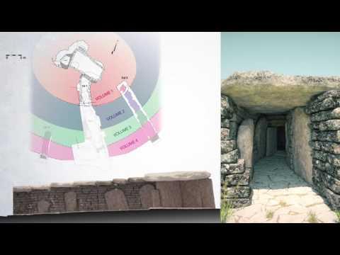 Découverte virtuelle du Tumulus de la  Motte de la Jacquille