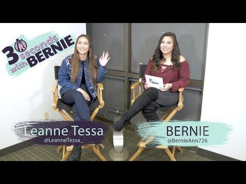 30 seconds with Bernie: Leanne Tessa