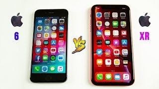 iPhone XR vs iPhone 6 SPEED Test - You Should Probably Upgrade..