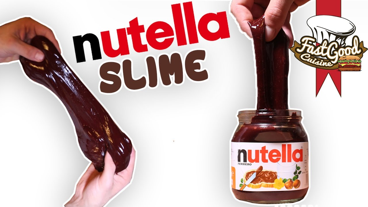comment faire le nutella slime youtube. Black Bedroom Furniture Sets. Home Design Ideas