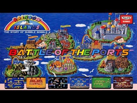 Battle of the Ports - Rainbow Islands レインボーアイランド (Show #54) 60fps
