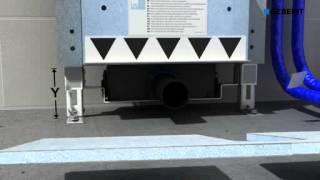 Монтажный элемент Geberit для душевого трапа. Монтаж в капитальную стену(Монтажный элемент Geberit для душевого трапа. Монтаж в капитальную стену., 2013-07-23T22:20:59.000Z)