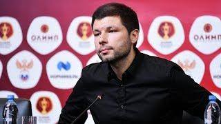 Пресс-конференция после матча «Краснодар» - «Ростов»