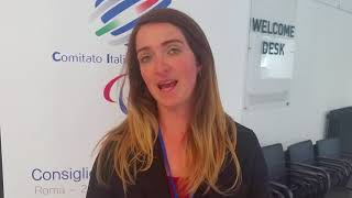 Martina Caironi rappresentante Atleti in Giunta CIP