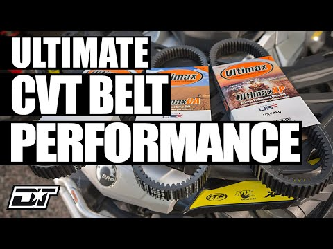 Dirttrax review of Ultimax Belts