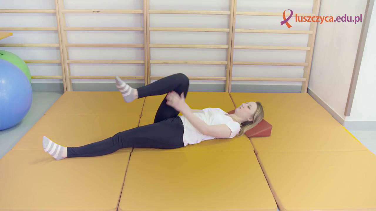 ćwiczenia biodra rehabilitacja)