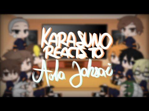 Download Haikyuu reacts |¦Karasuno reacts to Aoba Johsai¦|
