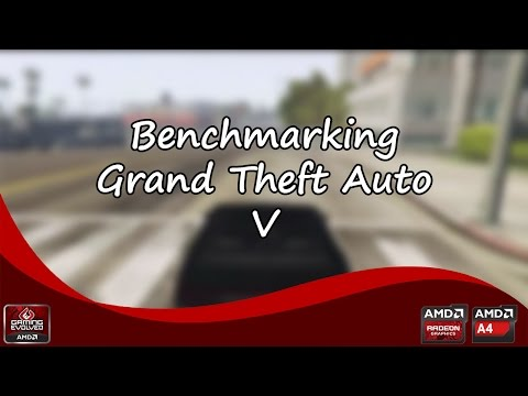 Grand Theft Auto V | Testing AMD A4-3400 | Low-End PC